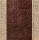 Fondo de cuero cosido combinado Imágenes de archivo libres de regalías