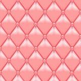 Fondo de cuero de la tapicería Fotografía de archivo libre de regalías
