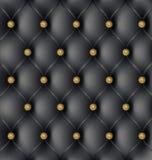 Fondo de cuero de la tapicería ilustración del vector
