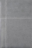 Fondo de cuero gris Imagen de archivo
