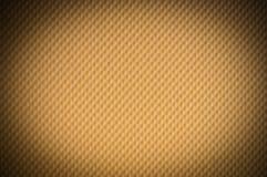 Fondo de cuero marrón de las rebabas Fotografía de archivo