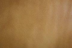 Fondo de cuero marrón de lujo de la textura Fotografía de archivo