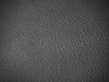 Fondo de cuero negro de la textura Imagen de archivo libre de regalías