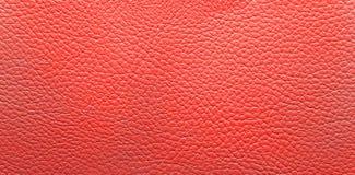 Fondo de cuero rojo Imágenes de archivo libres de regalías