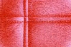 Fondo de cuero rosado Foto de archivo libre de regalías