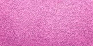 Fondo de cuero rosado Fotografía de archivo libre de regalías