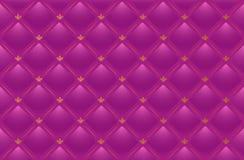 Fondo de cuero rosado del vector Fotografía de archivo