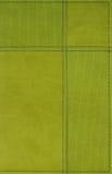 Fondo de cuero verde fotografía de archivo libre de regalías