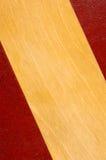 Fondo de cuero y de madera Fotos de archivo