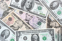 Fondo de dólares Foto de archivo libre de regalías