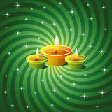 Fondo de Diwali Fotos de archivo