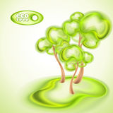 Fondo de Eco Imagenes de archivo