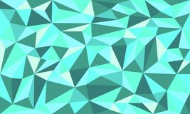 Fondo de Emerald Tosca Low Poly Art Vector libre illustration