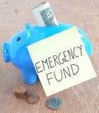 Fondo de emergencia Foto de archivo