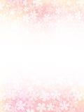 Fondo de flores rosadas Imagenes de archivo