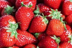 Fondo de fresas rojas Imagen de archivo