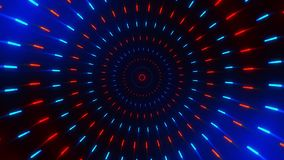 Fondo de giro gráfico del movimiento de Loopable de los círculos de BackgroundColorful del movimiento de Loopable del cargador de libre illustration