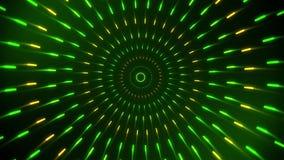 Fondo de giro gráfico del movimiento de Loopable de los círculos de BackgroundColorful de los datos del cargador del movimiento a libre illustration