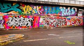 Fondo de Graffitti Wall Foto de archivo