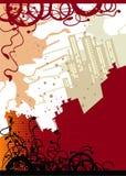 Fondo de Grunge ilustración del vector