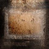 Fondo de Grunge con el marco Fotografía de archivo