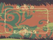 Fondo de Grunge para el texto Imagenes de archivo