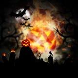 Fondo de Halloween Fotos de archivo libres de regalías