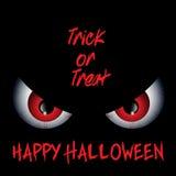 Fondo de Halloween de los males de ojo Fotos de archivo