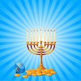 Fondo de Hanukkah libre illustration