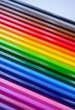 Fondo de lápices multicolores fotos de archivo libres de regalías