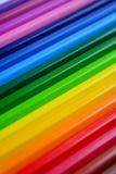 Fondo de lápices multicolores imagen de archivo libre de regalías