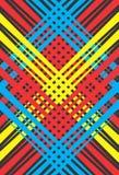 Fondo de líneas coloreadas stock de ilustración