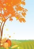 Fondo de la acción de gracias Imagen de archivo libre de regalías