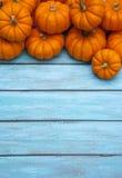 Fondo de la acción de gracias de la calabaza de otoño Fotos de archivo