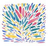 Fondo de la acuarela Imagen de archivo libre de regalías