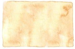 Fondo de la acuarela del color del café imagen de archivo libre de regalías