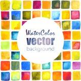 Fondo de la acuarela del vector Foto de archivo libre de regalías