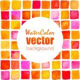 Fondo de la acuarela del vector Foto de archivo