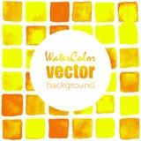 Fondo de la acuarela del vector Imagen de archivo libre de regalías