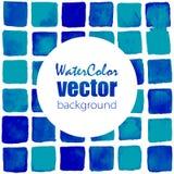Fondo de la acuarela del vector Fotografía de archivo libre de regalías