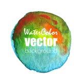 Fondo de la acuarela del vector Fotos de archivo