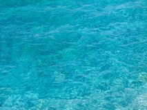 Fondo de la agua de mar Imagen de archivo libre de regalías