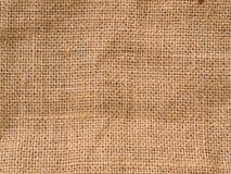 Fondo de la arpillera Fotografía de archivo
