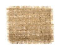 Fondo de la arpillera Imagenes de archivo