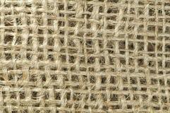 Fondo de la arpillera Fotografía de archivo libre de regalías
