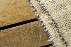 Fondo de la arpillera Foto de archivo libre de regalías
