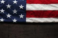Fondo de la bandera americana Fotografía de archivo libre de regalías