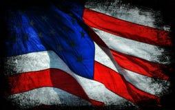 Fondo de la bandera americana Imagen de archivo