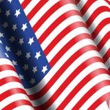 Fondo de la bandera americana Fotografía de archivo