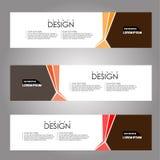 Fondo de la bandera del diseño del vector ejemplo eps10 Fotografía de archivo libre de regalías